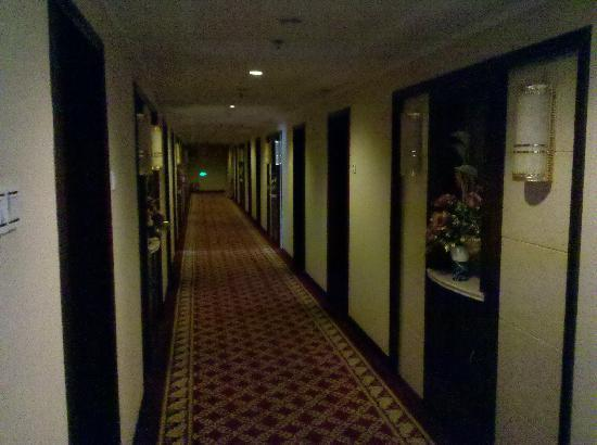 Pingdu Hotel: 走廊