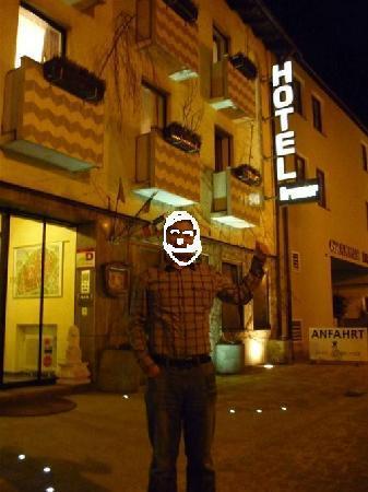 Hotel Brunner: 照片中就是本人不过处理了一下