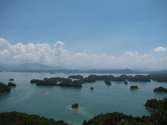 Thousand Island Lake (Qiandao Hu): 千岛湖远景