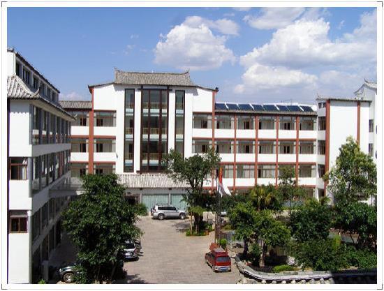 Jianshui Hotel: 这是进门的地方