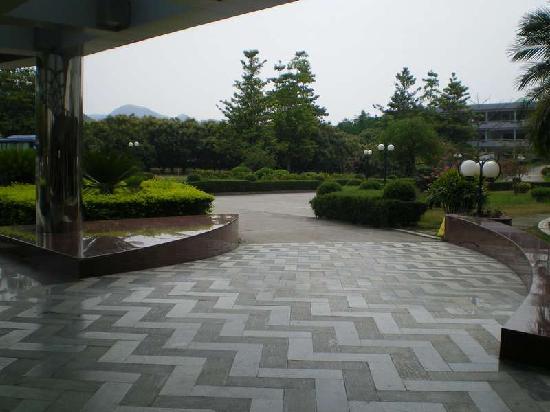 Dicui Mountain House: 滴翠山庄入口