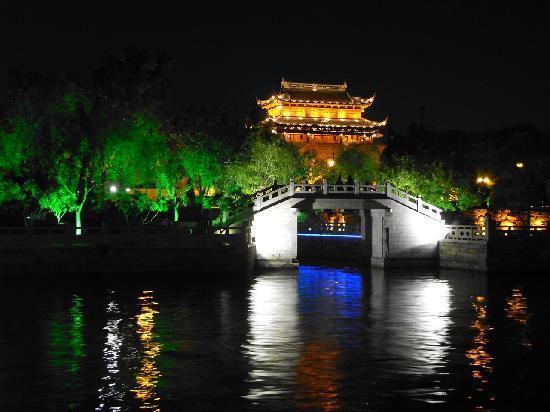 Suzhou, Cina: 山塘街