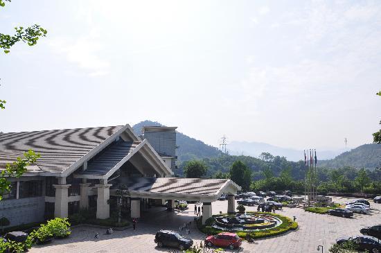Hangzhou Wonderland Hotel: 门口
