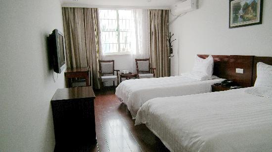 Aishangjia Hotel: 空间很大 硬件配备很好