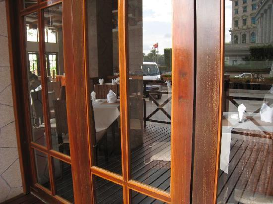Baohong Hotel: 餐厅外景