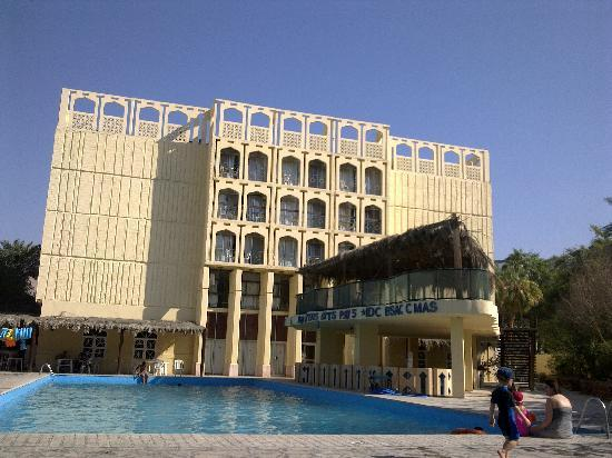 Alcazar Hotel: 酒店的泳池