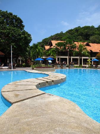 Laguna Redang Island Resort: 泳池