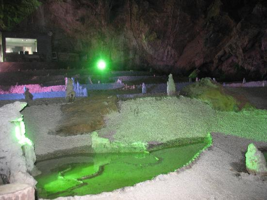Wanxiang Cave: 万象洞一景
