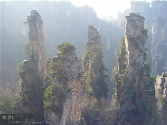 Tianzi Mountain Clouds