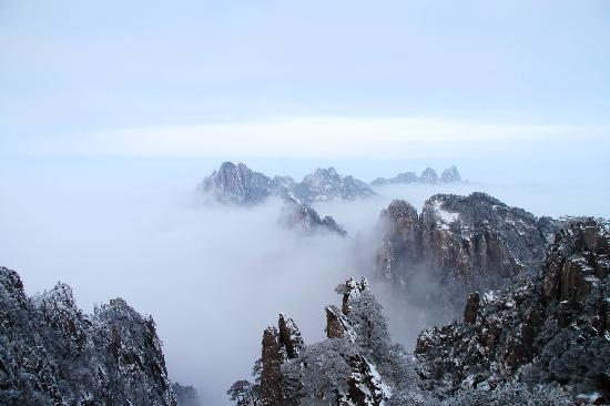 Mt. Huangshan (Yellow Mountain): 光