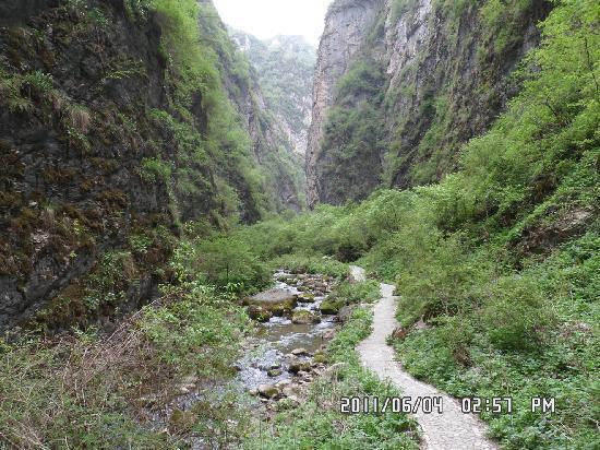 Zhang County, Kina: 走进遮阳山