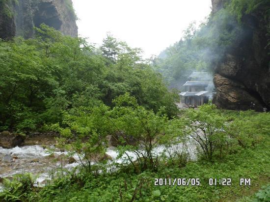 Guan'e Valley National Forest Park : 官鹅沟——炊烟袅袅