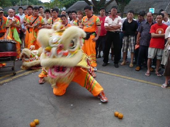 สิงคโปร์, สิงคโปร์: 新年舞狮