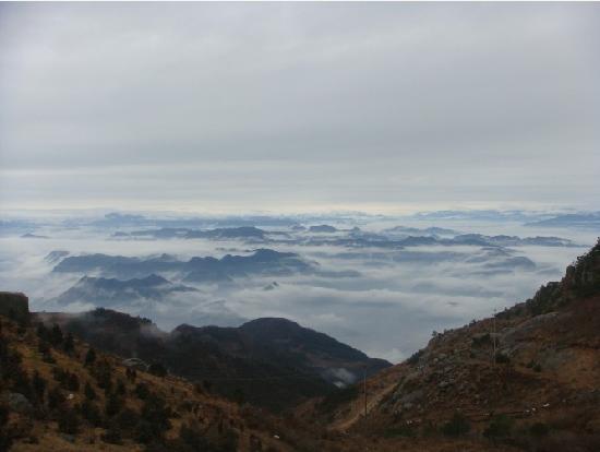 Kuocang Mountain : 一片碧蓝