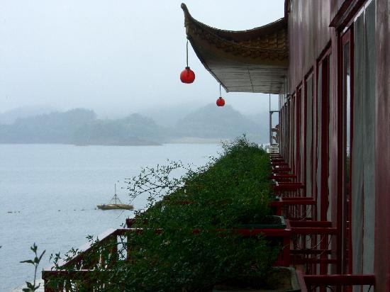 Lakeview Houseboat Hotel&Resort : 阳台上的景色