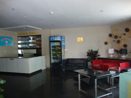 Jiazhou Apartment Hotel : 酒店大厅一角