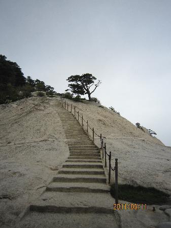 Mount Huashan: 险梯