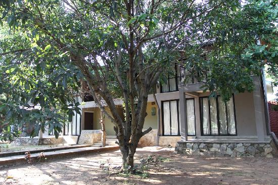 Thilanka Resort and Spa: 房间外