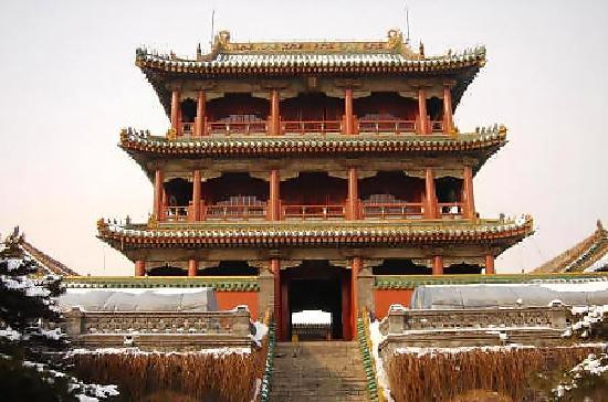 Shenyang, China: 沈阳故宫冬景