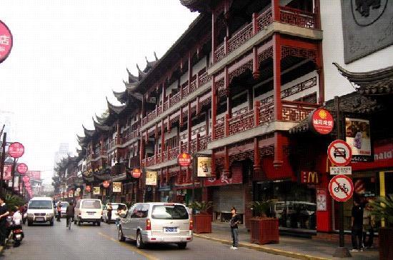 上海福州路文化街