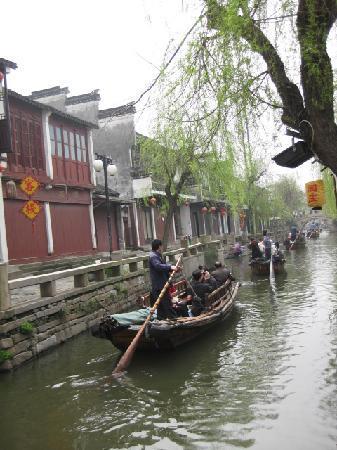 Zhouzhuang Boat: 小桥、流水、人家