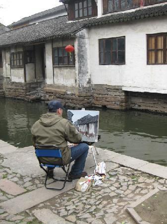 Zhouzhuang Boat: 能够生活在这里是幸福的