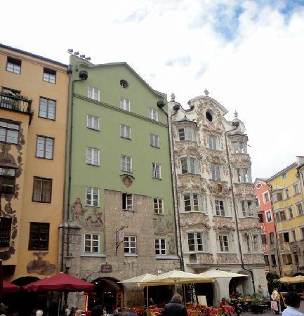 ออสเตรีย: 奥地利因斯布鲁克街道景观