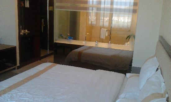 Ruixin Hotel: 房间一角