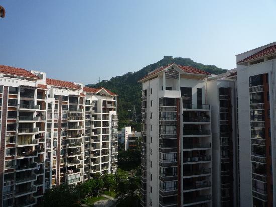 Pattaya Hotel : 房间阳台往外看