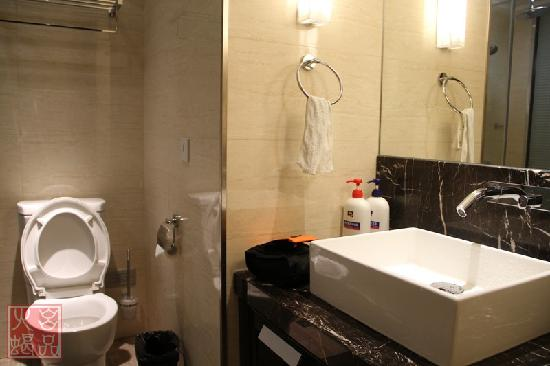 Gerya Apartment Nanjing Kairun Jincheng): 卫生间