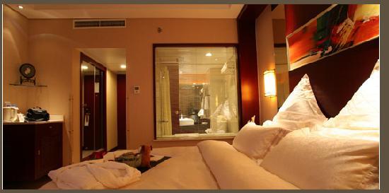 Scholars Hotel Suzhou Xuchengs : 房间的布局