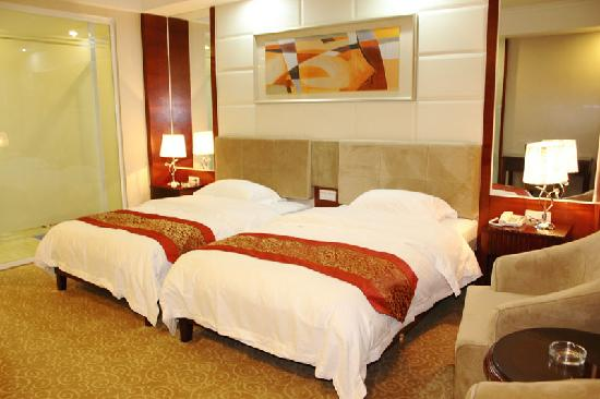 Guangzhou Yuncheng Hotel: 标准双床房
