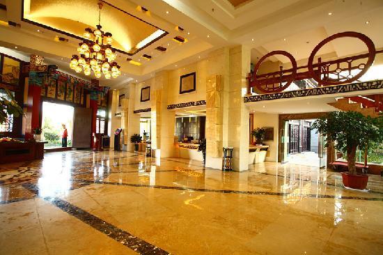 Tangyun Grand Hotel: 大堂厅内