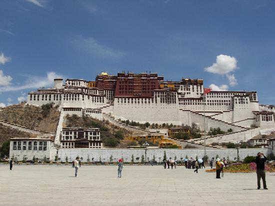 Tibet, China: 布达拉宫