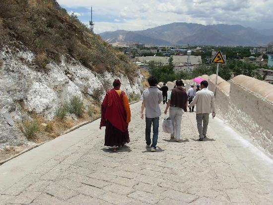 Tibet, Cina: 我和喇嘛大师