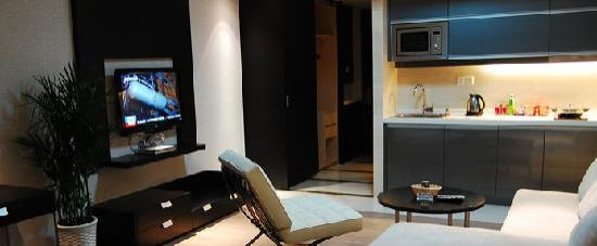 Checkool Service Apartment Hangzhou Xingguang: 休闲生活区