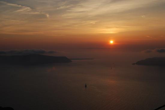 Grécia: 圣岛的日落