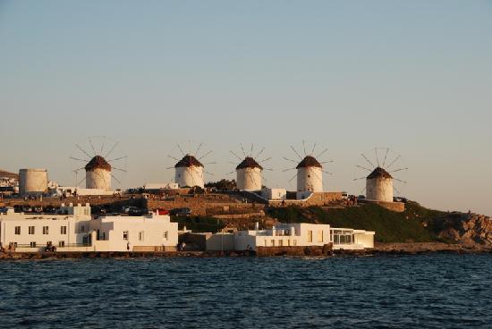 Grécia: 米岛-风车阵