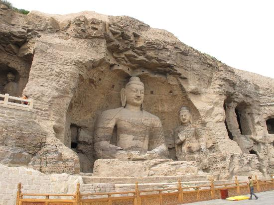 Datong County, China: 云岗石窟