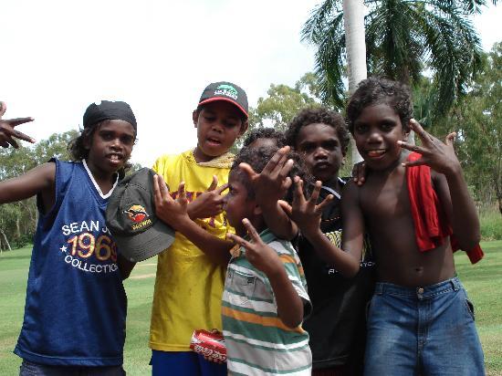 Groote Eylandt, أستراليا: 快乐的儿童