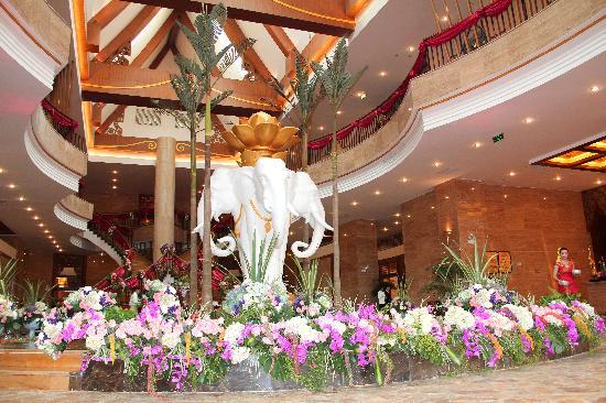 Jinglan Exhibition Hotel: 景兰会展大酒店大厅