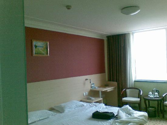 Jinlan Business Hotel: 房间一角