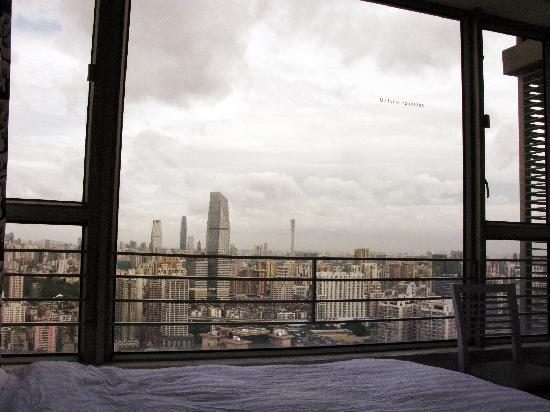 Pengyuanlai Hotel: 景觀雙人房(小蠻腰-廣州塔)