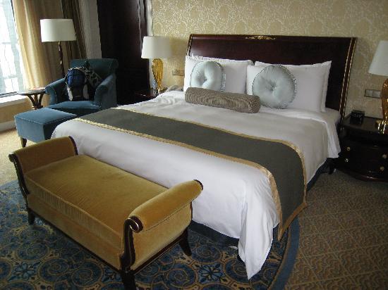 Grand Central Hotel Shanghai: 床足够大也很舒服