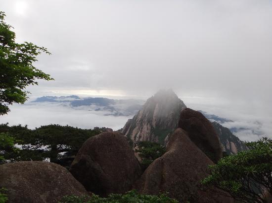 Huangshan Tangmo Scenic Spot: DSC00128
