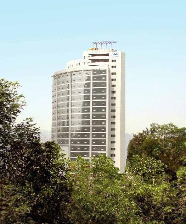 Gloria Plaza Hotel Wanzhou Chongqing: 外景