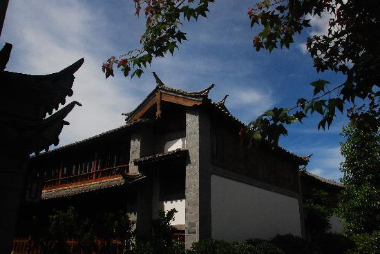InterContinental Lijiang Ancient Town Resort: 酒店里都是一栋栋别野