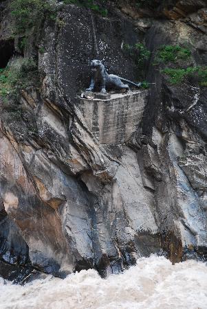写真上虎跳峡谷枚