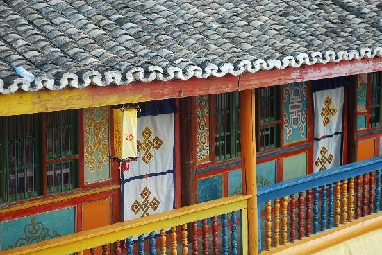 Ake Cairang Inn: 房顶