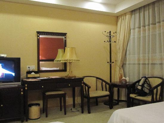 Shaoguan Shanshui Hotel: 有書桌椅